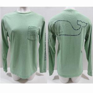 Vineyard Vines shirt XS Long Sleeve Vintage Whale